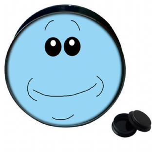 Rick & Morty Mr Meeseeks Ear Plug Body Jewellery